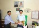 Receving D.G. Sir In Office